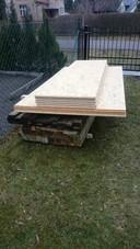 Das erste Holz