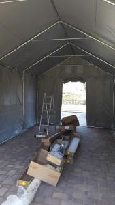 und die neue Werkstatt